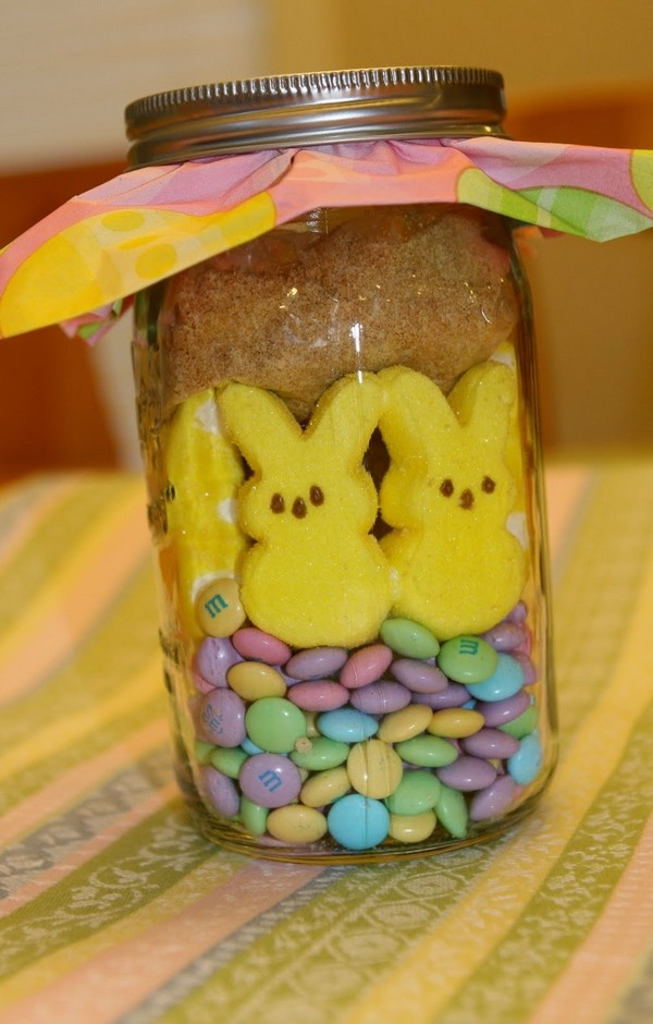 homemade easter mason jar with bunny marshmallow  candies diy easter crafts for kids-f75528.jpg